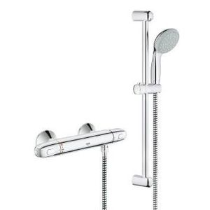 ROBINETTERIE SDB MITIGEUR THERMOSTATIQUE DOUCHE GROTHERM 1000 + BAR