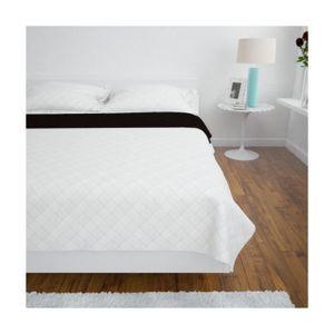 couvre lit marron achat vente couvre lit marron pas cher. Black Bedroom Furniture Sets. Home Design Ideas