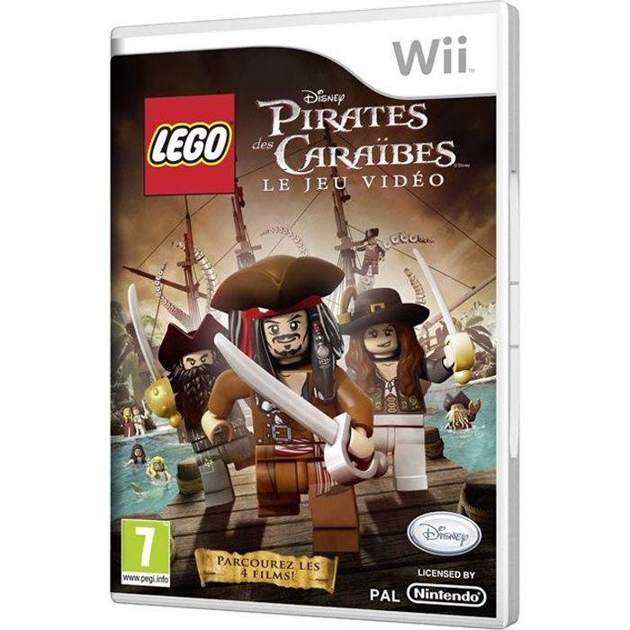 Lego pirates des cara bes jeu wii achat vente jeux wii lego pirates des caraibes wii les - Jeux de lego sur jeux info ...