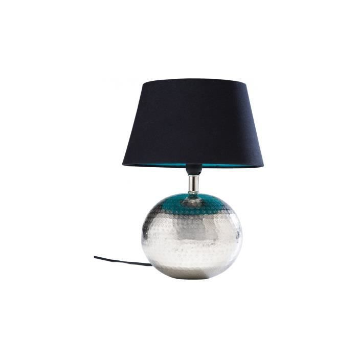 lampe de table hammered ball kare design achat vente lampe de table hammered bal m tal. Black Bedroom Furniture Sets. Home Design Ideas