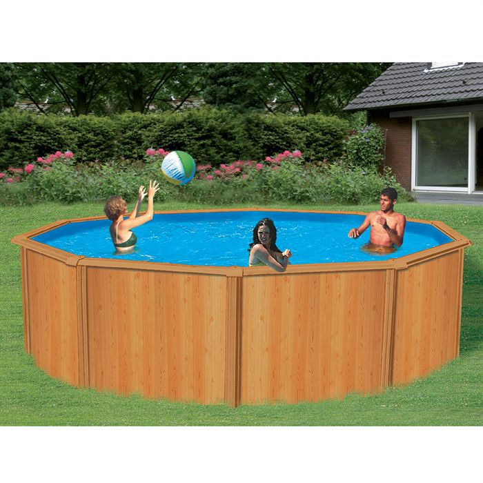 piscine trigano canyon aspect bois achat. Black Bedroom Furniture Sets. Home Design Ideas