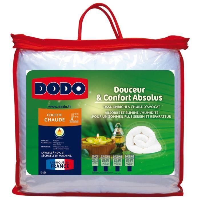 dodo couette chaude 400 gr m danemark 200x200 cm blanc achat vente couette soldes cdiscount. Black Bedroom Furniture Sets. Home Design Ideas