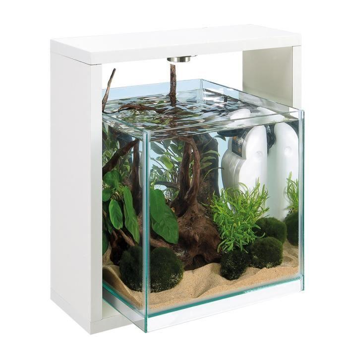 samoa 25 aquarium 15 litres en verre blanc 25 x 33 6 x. Black Bedroom Furniture Sets. Home Design Ideas