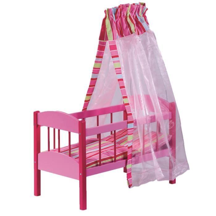 howa lit pour poup e en bois 2120 achat vente. Black Bedroom Furniture Sets. Home Design Ideas