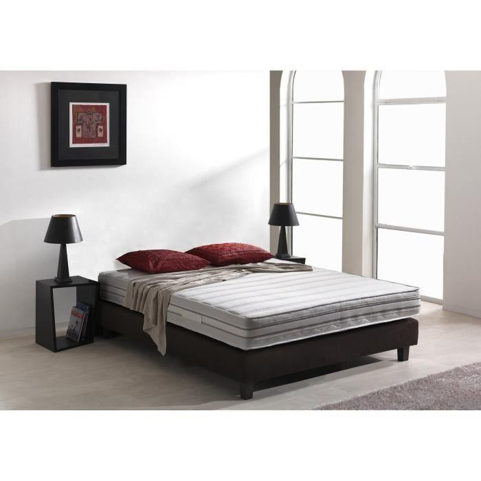ergorelax matelas 180x200 cm ressorts et m moire de forme ferme 500 ressorts et 55 kg m3. Black Bedroom Furniture Sets. Home Design Ideas