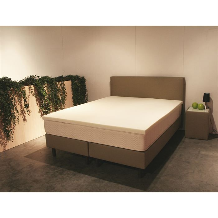 surmatelas mousse haute r silience achat vente sur matelas cdiscount. Black Bedroom Furniture Sets. Home Design Ideas