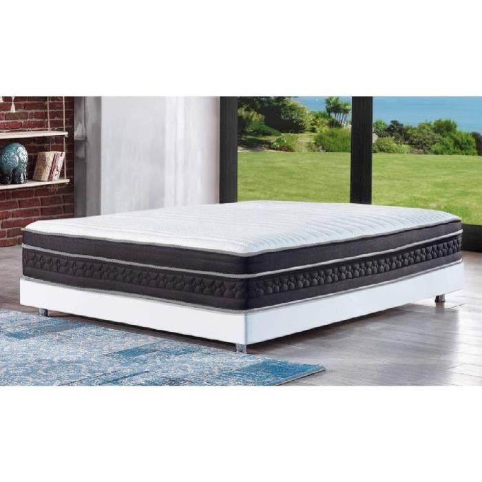reca bedding matelas pr sident 160x200 cm ressorts et. Black Bedroom Furniture Sets. Home Design Ideas