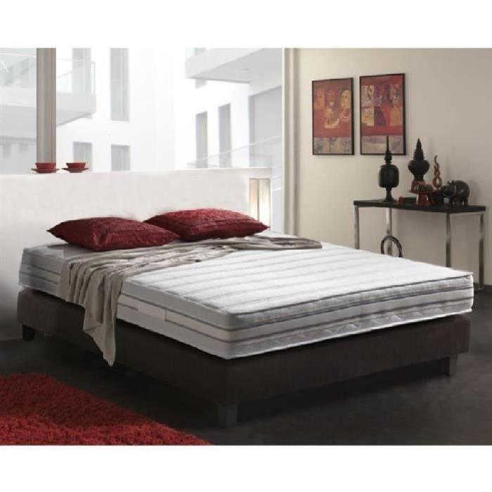 selection ensemble matelas sommier 160x200 cm m moire de ferme equilibr 40kg m3 2. Black Bedroom Furniture Sets. Home Design Ideas