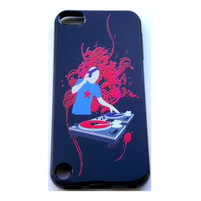 Housse gel dj pour ipod touch 5 achat vente housse for Housse ipod touch