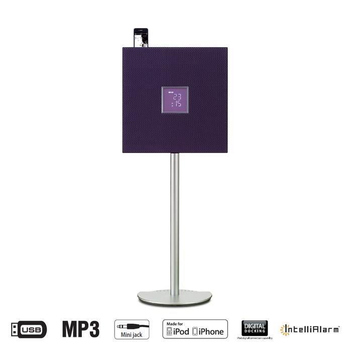 cha ne hifi sur pied puissance audio 2 x 15w haut parleurs bass reflex 2 tweeter d me. Black Bedroom Furniture Sets. Home Design Ideas