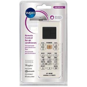 Wpro Télécommande universelle pour climatiseurs fixes. Adaptable sur plus de 4000 mod?les. 9 fonctions