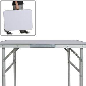 Table pliante 100 x 60 achat vente table pliante 100 x 60 pas cher cdiscount - Table jardin barbecue creteil ...