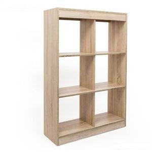 bibliotheque 80 cm largeur achat vente bibliotheque 80 cm largeur pas cher cdiscount. Black Bedroom Furniture Sets. Home Design Ideas