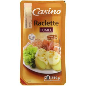 CASINO Raclette fumée naturelle