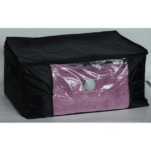 housse de rangement sous vide noir m achat vente housse de rangement malle souple air off. Black Bedroom Furniture Sets. Home Design Ideas