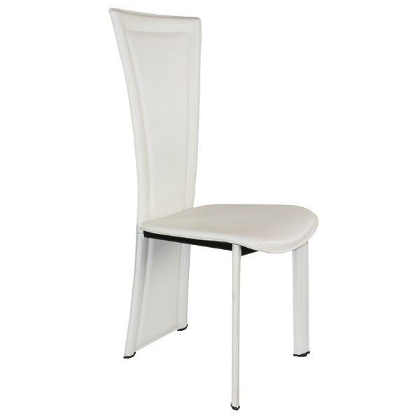 Chaise de s jour couleur blanche achat vente chaise - La chaise blanche ...
