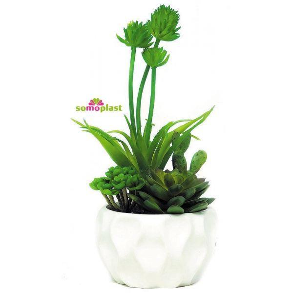composition de plantes vertes artificielles c achat