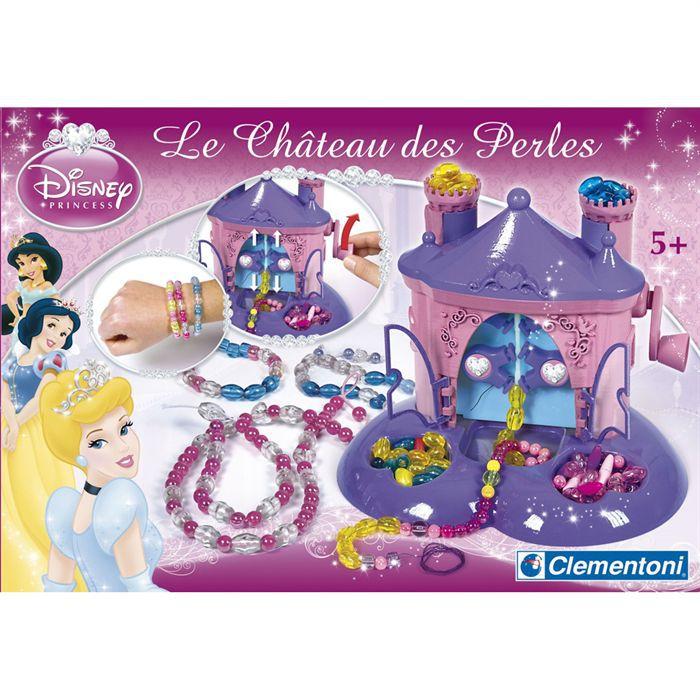 disney princesses ch teau de perles clementoni achat vente cr ation de bijoux cdiscount. Black Bedroom Furniture Sets. Home Design Ideas