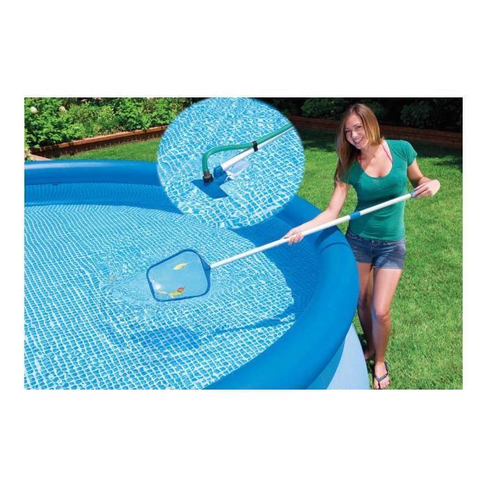 kit d 39 entretien de piscine intex achat vente entretien. Black Bedroom Furniture Sets. Home Design Ideas