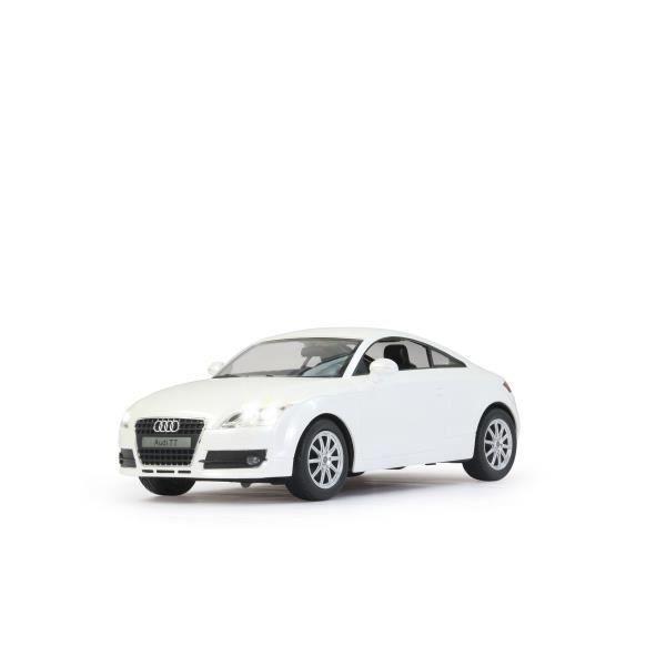 voiture radiocommand e audi tt blanche achat vente voiture camion voiture radiocommand e. Black Bedroom Furniture Sets. Home Design Ideas