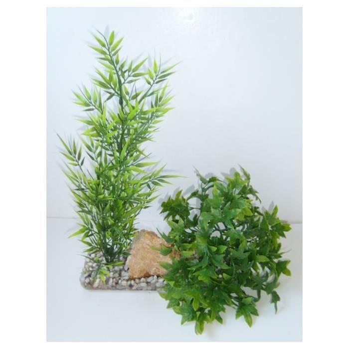 d coration plante en plastique paysage vert achat vente perle bille gravier d coration. Black Bedroom Furniture Sets. Home Design Ideas