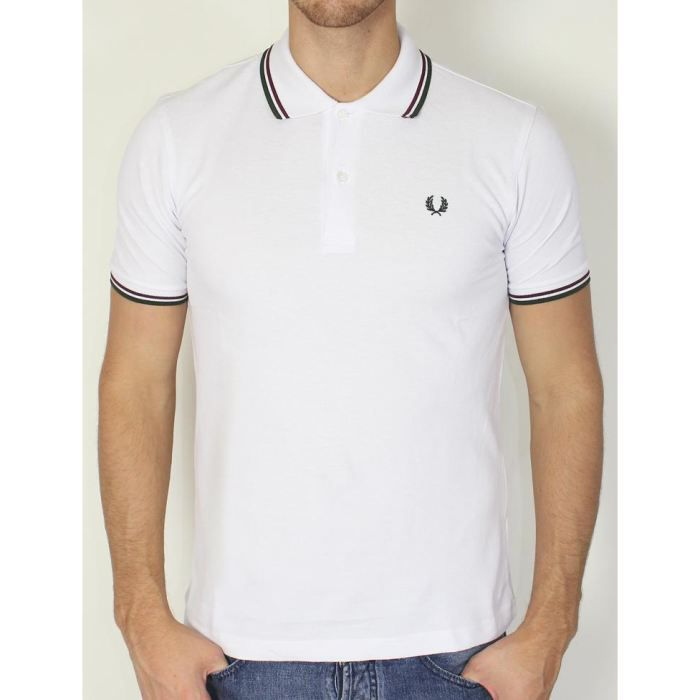 fred perry polos homme polo manc blanc achat vente polo fred perry polos homme pas cher. Black Bedroom Furniture Sets. Home Design Ideas