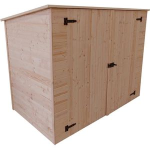 Abri velo bois achat vente abri velo bois pas cher cdiscount - Abri jardin mural besancon ...