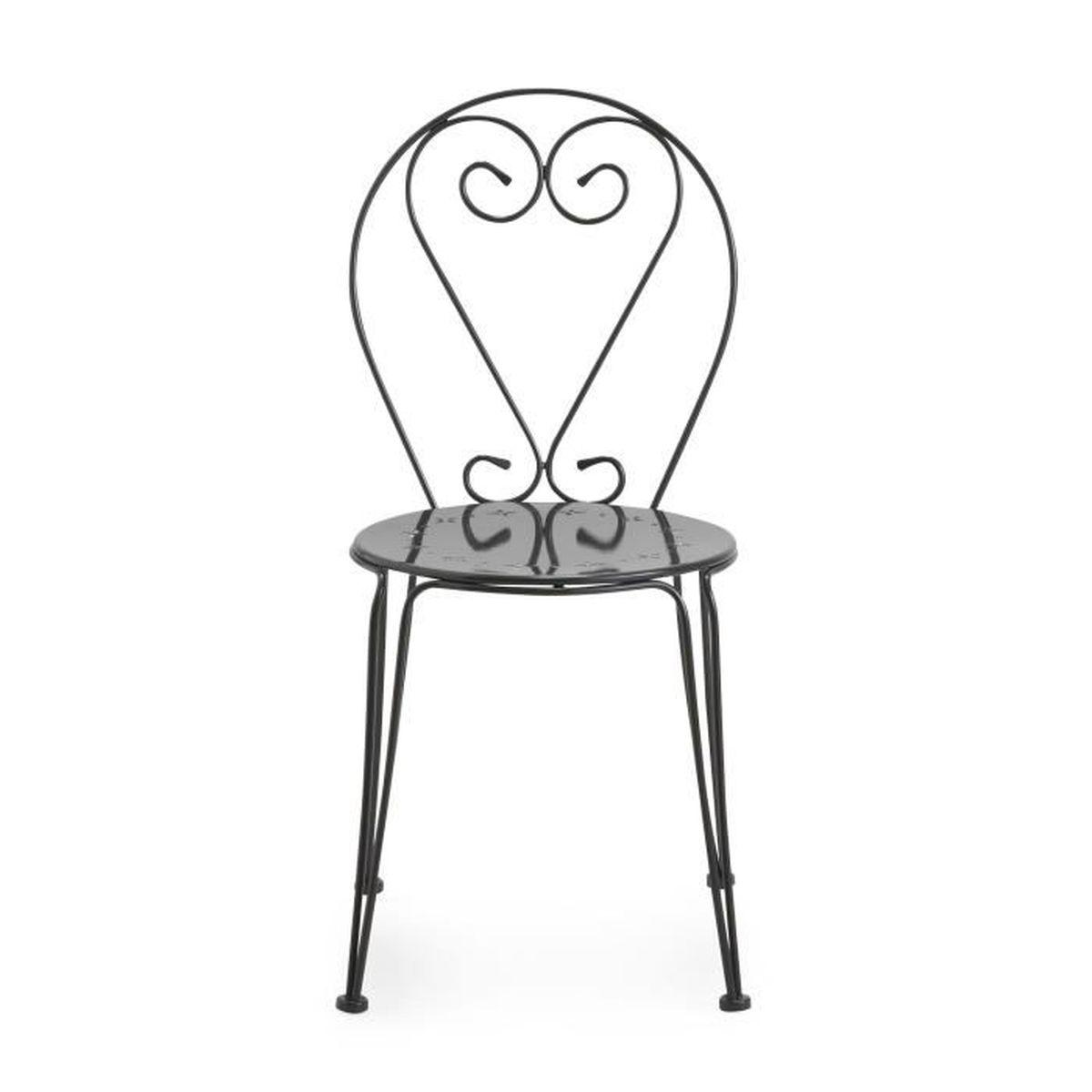 chaise de jardin grise maison design. Black Bedroom Furniture Sets. Home Design Ideas