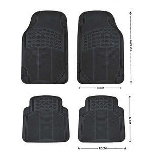 tapis voiture caoutchouc achat vente tapis voiture caoutchouc pas cher soldes cdiscount. Black Bedroom Furniture Sets. Home Design Ideas