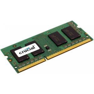 MÉMOIRE RAM CRUCIAL MÉMOIRE PC - DDR3L - 2GB - 1600 - SODIMM -