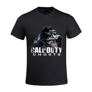 T-SHIRT Tee-shirt Homme Call Of Duty cod-ghosts - Manches
