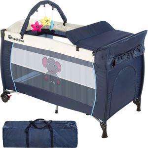 lit parapluie lit b b pliant lit de voyage avec accessoires r glable dodo bleu 128 cm x 65 cm. Black Bedroom Furniture Sets. Home Design Ideas