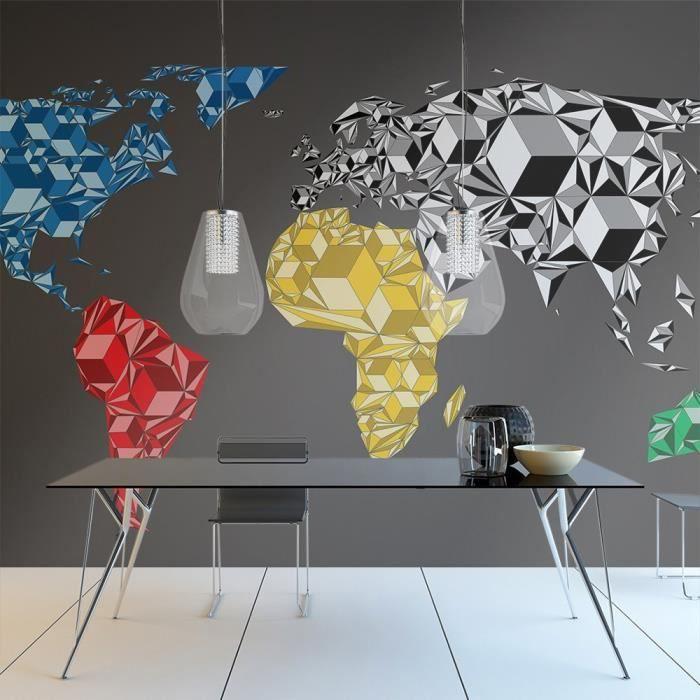 affiche g ante poster xxl carte du monde 300x210 cm 6 l s achat vente affiche. Black Bedroom Furniture Sets. Home Design Ideas