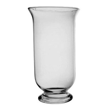 Photophore Vase Sur Pied En Verre Souffl E Bouche Achat Vente Photophore Lanterne Cdiscount