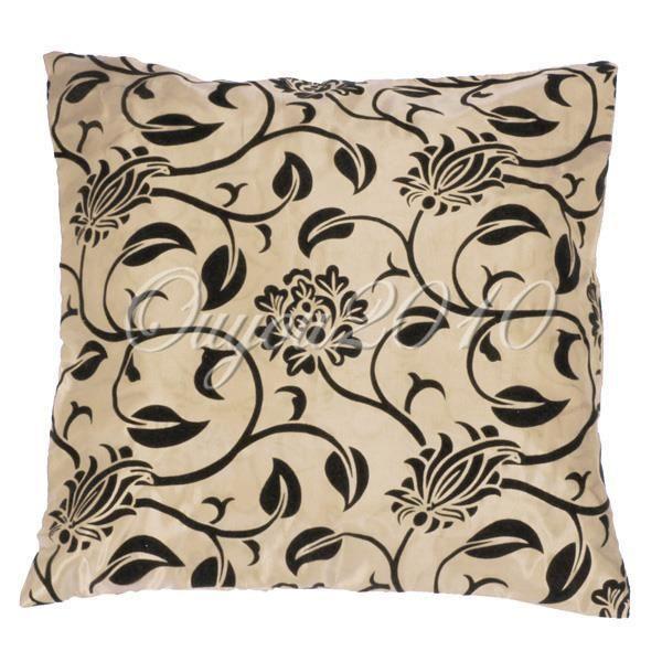 housse coussin canap lit fleur maison cushion cover. Black Bedroom Furniture Sets. Home Design Ideas