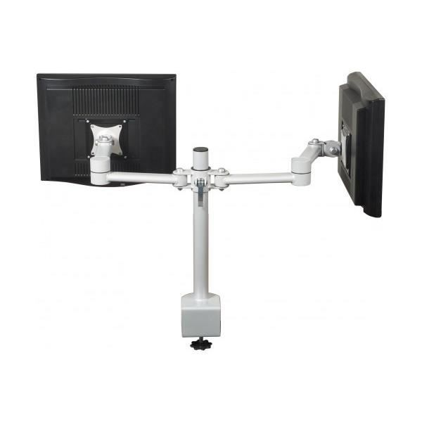 Support cran lcd avec pince double gris 5222 achat - Support photo avec pince ...