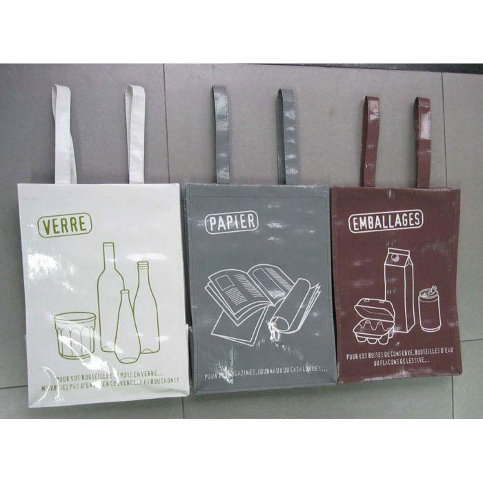 Sacs de recyclage x3 achat vente sac poubelle sacs de recyclage x3 - Poubelle recyclage maison ...
