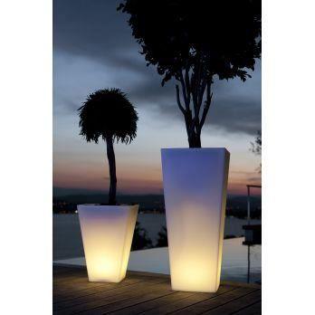 Pot de fleur lumineux hauteur 50 cm 87 cm ou achat for Pot de jardin lumineux
