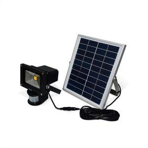 projecteur led solaire exterieur achat vente. Black Bedroom Furniture Sets. Home Design Ideas