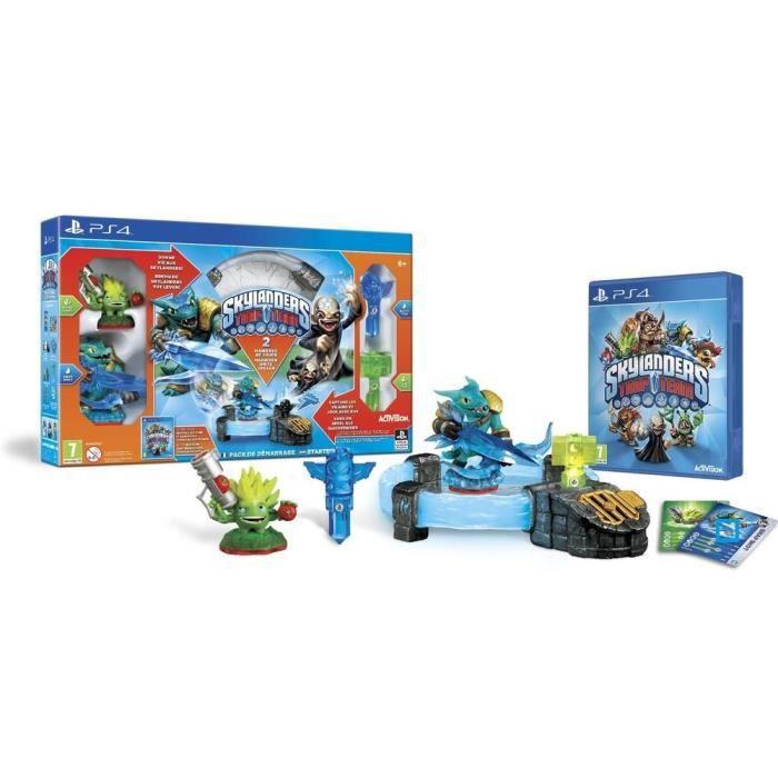 jeux pc video console ps pack de demarrage skylanders trap team jeu f