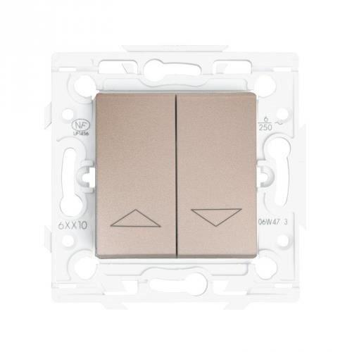 interrupteur pour commande de volet roulant arnould espace cocoon achat vente interrupteur. Black Bedroom Furniture Sets. Home Design Ideas
