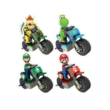 Voiture camion mario kart wii k nex vehicules bikes - Mario kart wii personnages et vehicules ...