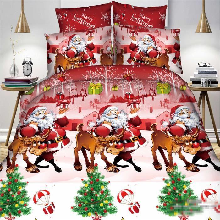 l m p re no l parure de couette parure de lit 1 housse de couette220x 240 cm 2 taie d 39 oreiller. Black Bedroom Furniture Sets. Home Design Ideas