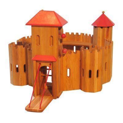 jouet en bois forteresse chateau fort 5907577003203 achat vente univers miniature. Black Bedroom Furniture Sets. Home Design Ideas
