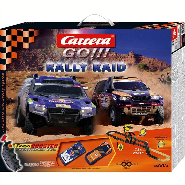 rally raid circuit carrera go achat vente circuit cdiscount. Black Bedroom Furniture Sets. Home Design Ideas