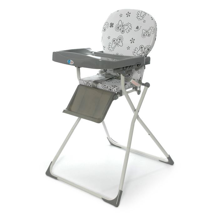 Chaise haute pliable papillons first baby safety achat for Chaise haute pliable