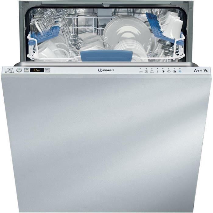 lave vaisselle tout int grable 60 indesit difp66b 9 eu achat vente lave vaisselle les. Black Bedroom Furniture Sets. Home Design Ideas