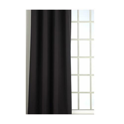 rideau isolant thermique hiver couleur noir 145 achat vente rideau acier cdiscount. Black Bedroom Furniture Sets. Home Design Ideas