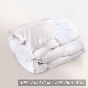 Couette 280x240 achat vente couette 280x240 pas cher cdiscount - Couette duvet d oie blanche ...