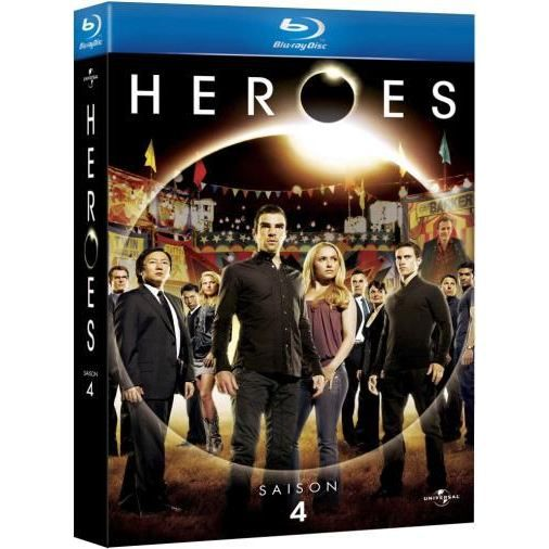 blu ray heroes saison 4 en blu ray s rie pas cher cdiscount. Black Bedroom Furniture Sets. Home Design Ideas